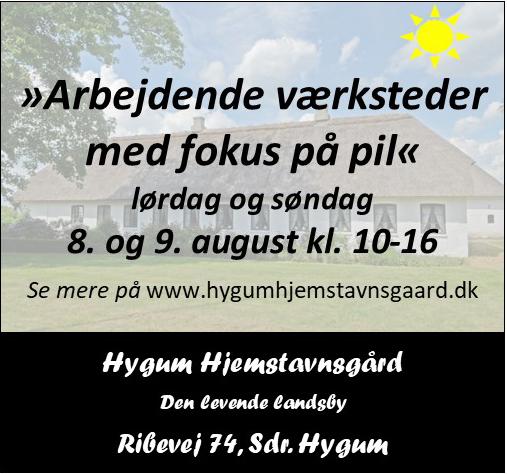 Hygum Hjemstavnsgård - arbejdende værksteder
