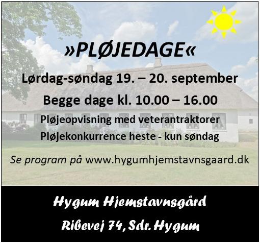 Hygum Hjemstavnsgård - pløjedage 2020