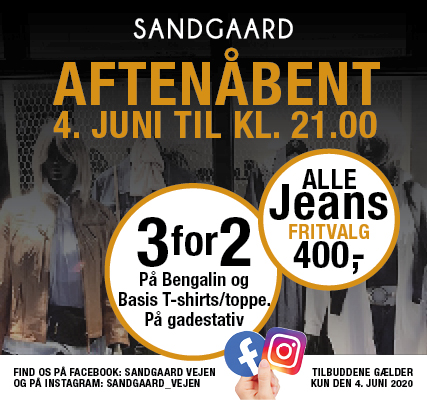 Sandgaard - 4. juni