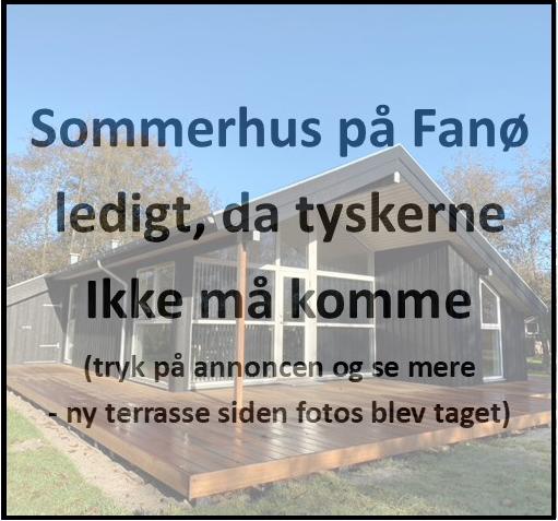 Sommerhus - ledigt