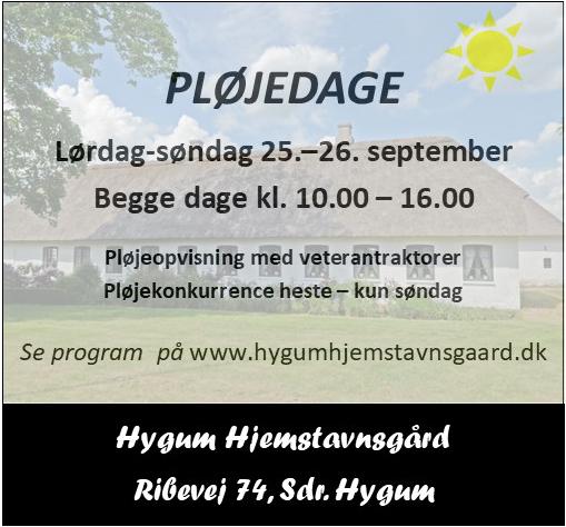 Hygum Hjemstavnsgård - pløjedage