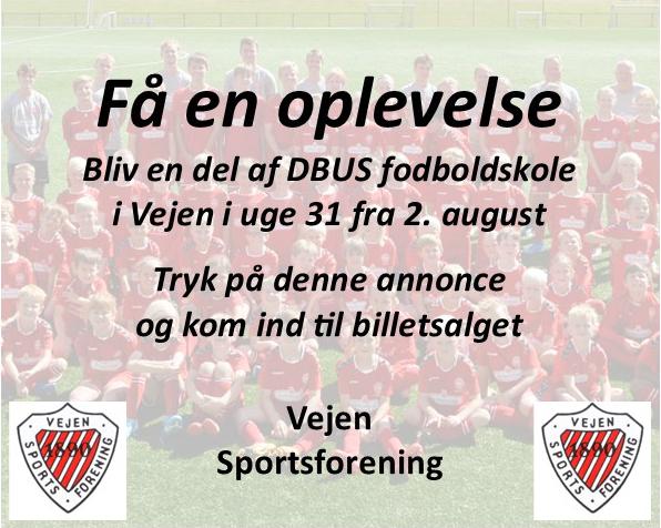 Fodboldskole i Vejen - 2021