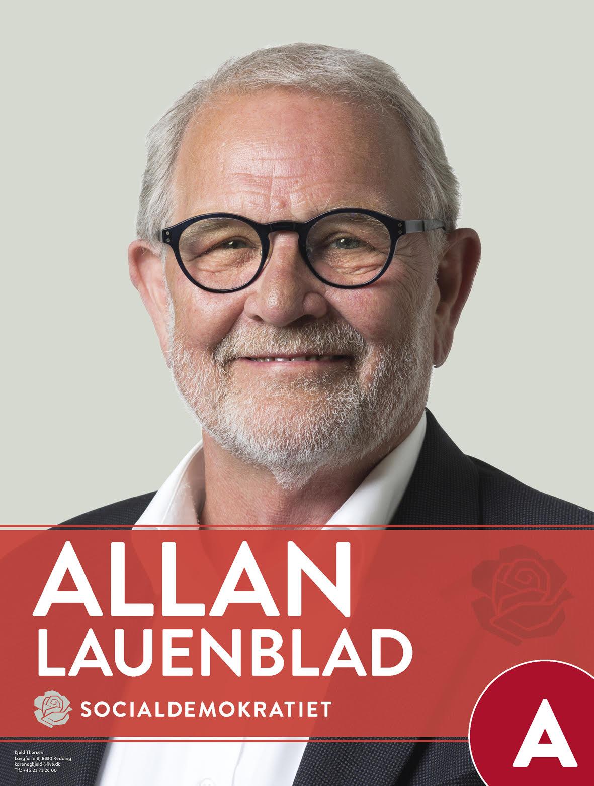 Allan Lauenblad - valgannonce - privat