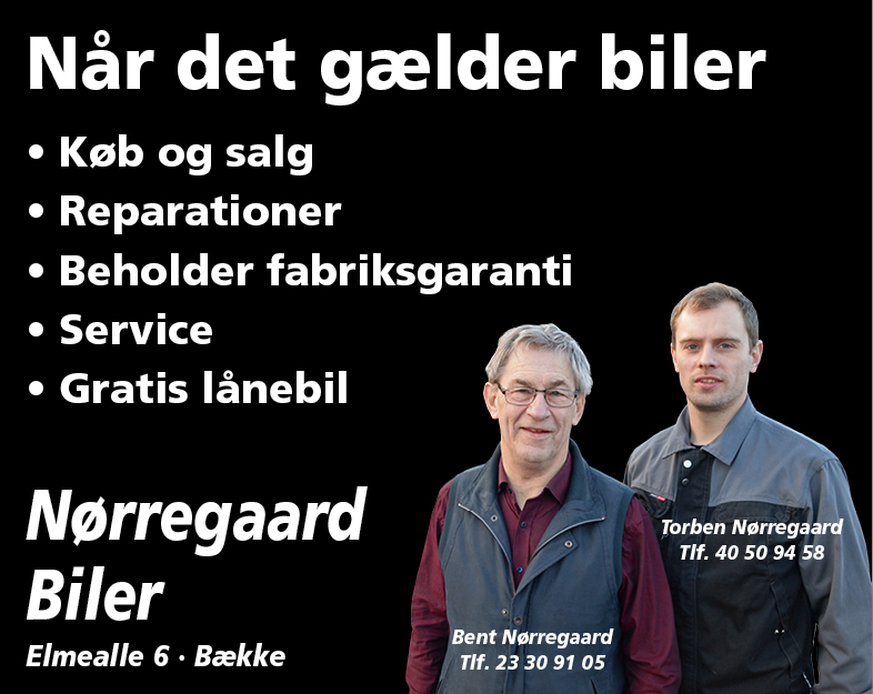 Nørregaard biler - bund