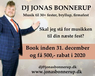 Jonas Bonnerup - rabat før 31. december