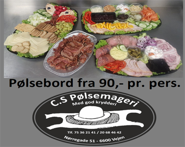 CS Pølsemageri - smørrebrød